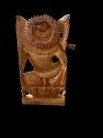 Krishna Ji Wooden Murti 4 Inch