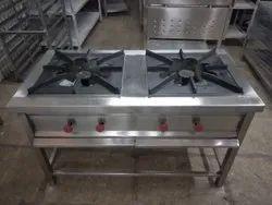 2 Burner Gas Range