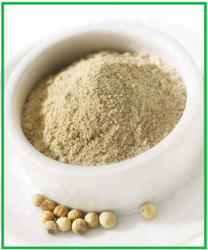 Chhatariya Foods White Pepper Powder, Packaging Type: HDPE Poly Bag, Packaging Size: 1 Kg