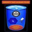 Concrete Tiles Lacquer Polish