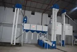 1200 Kg Per Hour Wheat Cleaning Plant