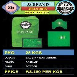 Paver Block Green Iron Oxide