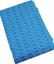 Pochampally Sico Silk Fabric, Blue