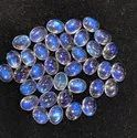 100% Natural Rainbow Moonstone Cabochon, 7x9MM Oval Moonstone Gemstone, Eye Clean Moonstone Gemstone