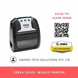 Zebra ZQ120 Mobile Receipt and Label Printer