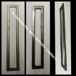 Natural SS Perforated with graphite laminate gasket, For Industrial, Thickness: 2mm To 6mm