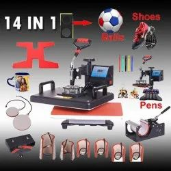 Coated 5 In 1 T Shirt Printing Machine, Capacity: Check 99sublimation