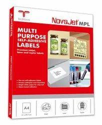 Novajet Self Adhesive Labels