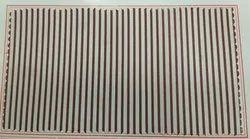 Striped 36 inches Doriya Stripe Polyester Viscose Fabric, 85