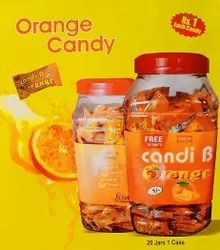 oval Orange Candy, Packaging Type: Plastic Jar, Packaging Size: 140