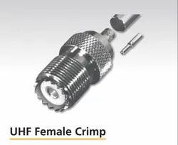 SPECTRA 8105 - Mc 58 UHF Female Crimp, Cable Mount