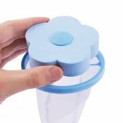 Washing Machine Floating Lint Mesh Bag Net Hair Filter, Reusable Laundry Lint Catcher Net Bag