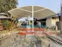 Tensile Structure for Restaurant Shed