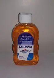 Adillium Chlorhexidine Gluconate & Cetrimide liquid