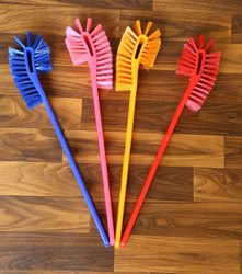 Double Hockey Toilet Brush