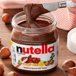 Rectangular Nutella Ferrero Chocolate Spread Jar, 750 g