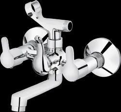 Plantex Flora Wall Mixer With Crutch For Arrangement Of Telephonic Shower (Wall Mounted)