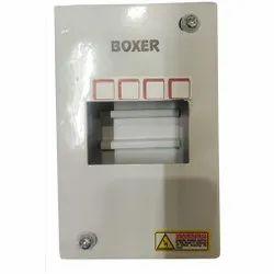 MCB  Box 4 way Single Door Boxer