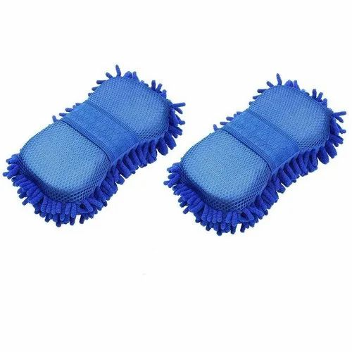 Tile Window Cleaning Sponge Brush Scrubber Kitchen Bathroom Cleaner Pads PF