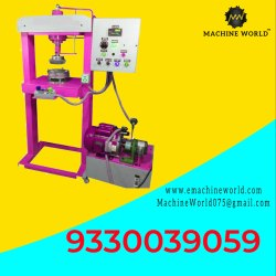 Single Die Hydraulic Disposable Paper Plate Making Machine