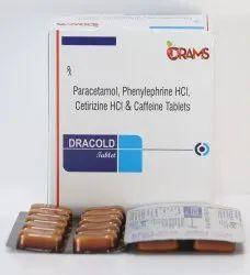 Cetirizine Phenylephrine Paracetamol Tablets