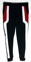 Black Sports Wear 4 Way Lycra Fabric Lower
