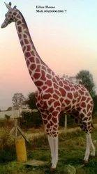 Giraffe FRP Animal Statue