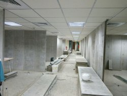 Partition Gray Readymade Wall Panels