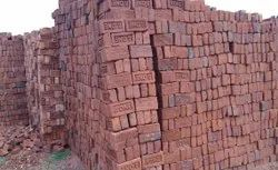 Rectangular Red Clay Brick, Size: 6 X 8 X 16 Inches