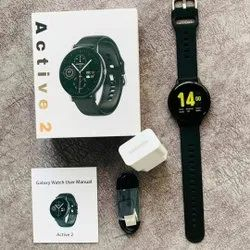 MIC Silicone Active 2 Logo Smartwatch Round Dial, 0.5KG