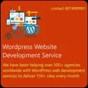 Dynamic Wordpress Website Development Service, With 24*7 Support