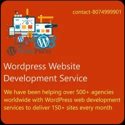 Dynamic WordPress Website Designing And Development Service, With 24*7 Support