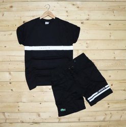 LACOSTE Round Neck T-shirt MENS T-Shirt+Shorts, Size: M - L - XL - XXL