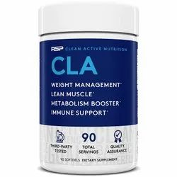 RSP Nutrition CLA Weight Loss Supplement, 90 And 180 Softgels Packaging, Non prescription