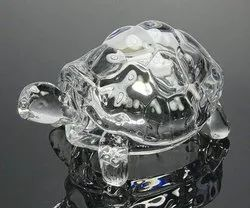 Crystal Tortoise, Transparent Turtle Size :- Small