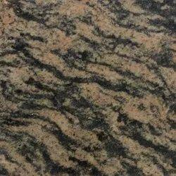 Polished River Brown Granite Slab, Flooring, Thickness: 17 mm