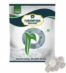 Parampara Organic Brown Rock Candy Crystal (Mishri Sugar), Packaging Size: 500g