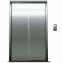 Stainless Steel Center opening Automatic Elevator Doors