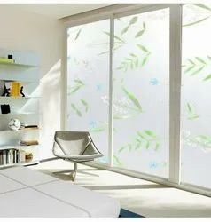 Multicolor PVC Frosted Glass Film
