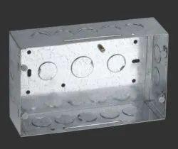Galvanized Iron (GI) 3 Way GI Modular Box
