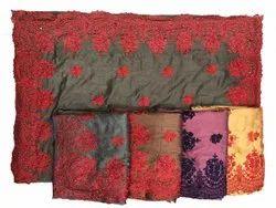 Border Silk Embroidered Saree