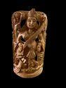 Saraswati Ji Wooden Murti 8 Inch In Standing
