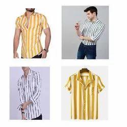 Club Wear Striped Shirt