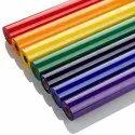 PROFLEX Plain Red PU Heat Transfer Vinyl Rolls, Thickness: 120 Micron