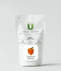 Urja Seeds Capsicum F-1 Hybrid Orange, For Agriculture