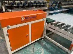 HK Machinery Semi Automatic Mattress Rolling Machine