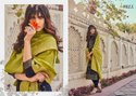 Ibiza Suit Silky Pure Woven Russian Silk Jacquard Designer Salwar Suit Catalog