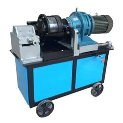 Kame Bar Threading Machine, Model Name/Number: HGS40B, Capacity: 40Mm