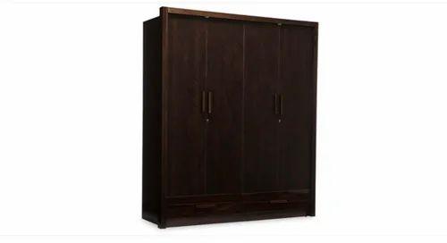 Four Door Wooden Wardrobe