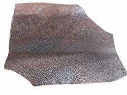 Plain Brown Upholstery Leather, For Garment,Handbag, 1.4 Mm